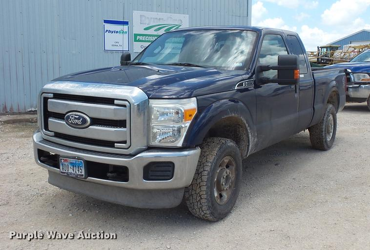 2011 Ford F250 Super Duty SuperCab pickup truck