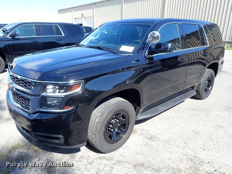 2016 Chevrolet Tahoe Police SUV