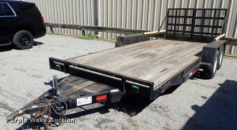 1996 Tex-Mex flatbed trailer