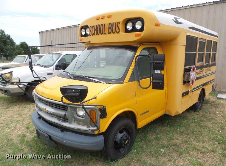 1999 Chevrolet Express 3500 school bus