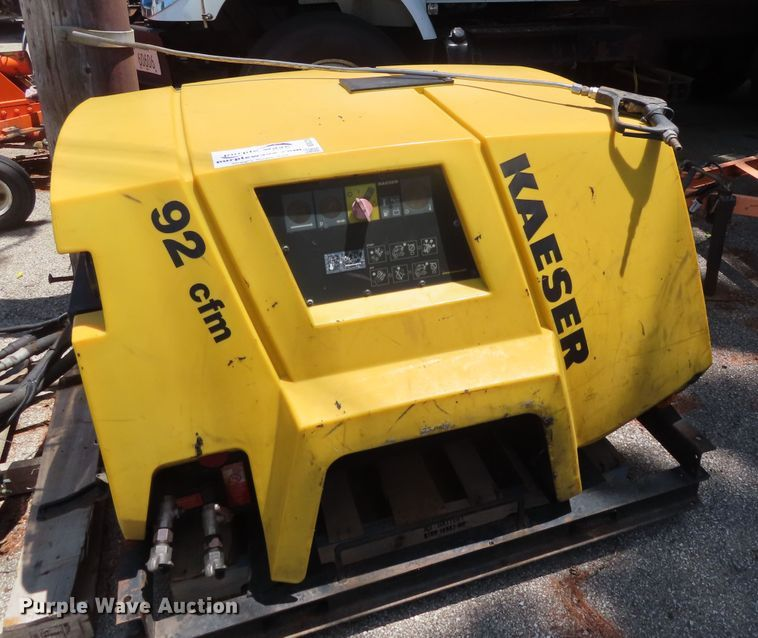 Kaeser M26 air compressor