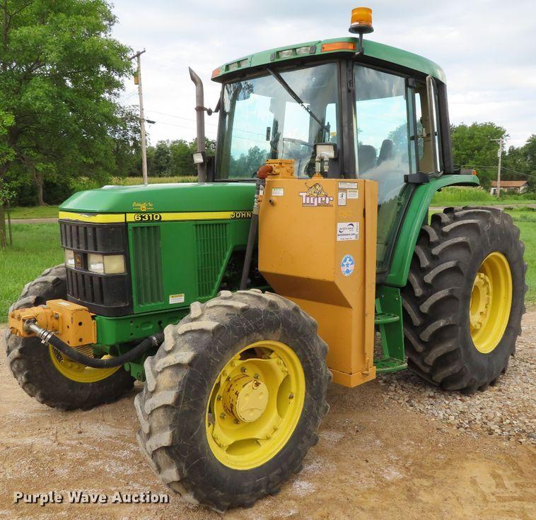 2000 John Deere 6310 MFWD tractor