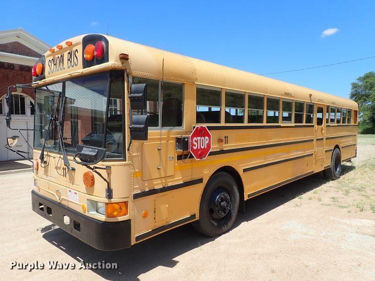 1996 International school bus