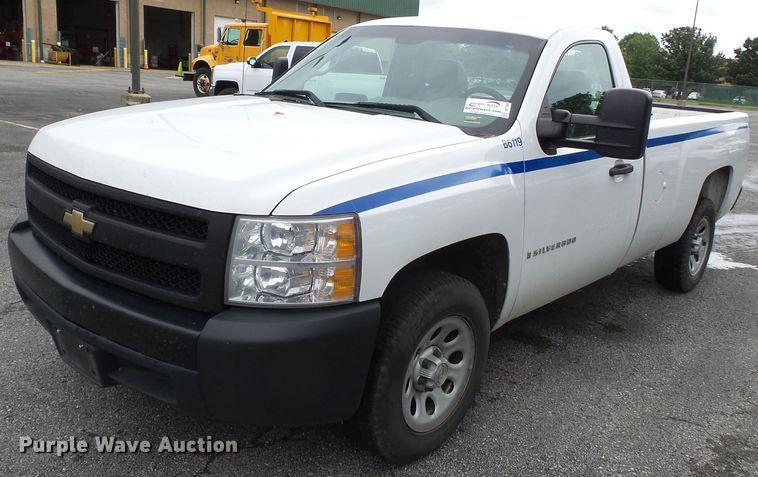 2007 Chevrolet Silverado 1500 pickup truck