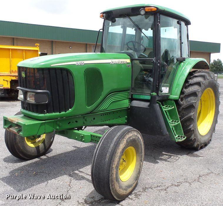 2006 John Deere 6615 tractor