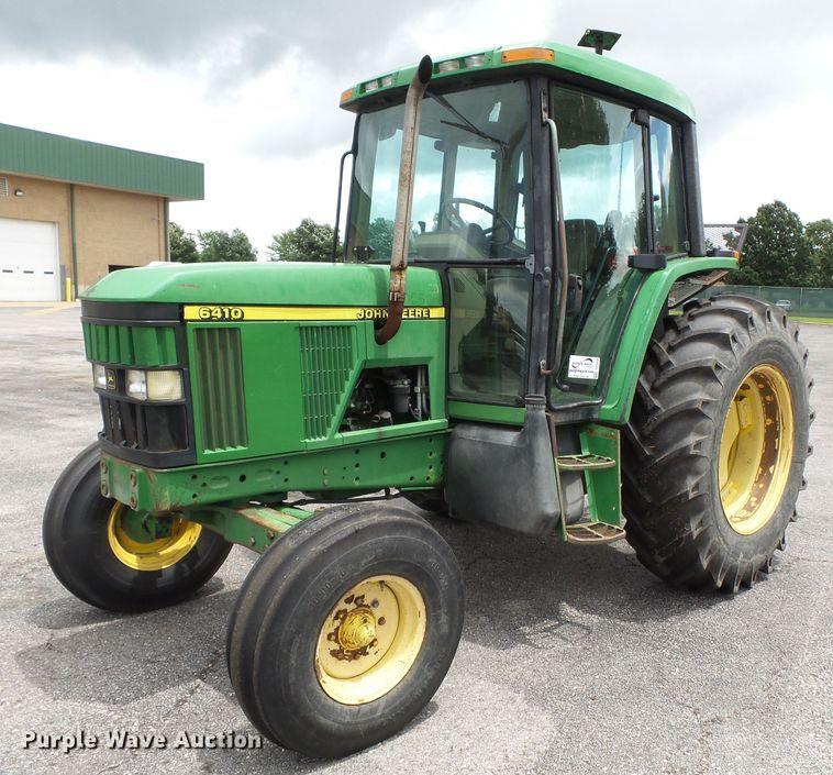 2001 John Deere 6410 tractor