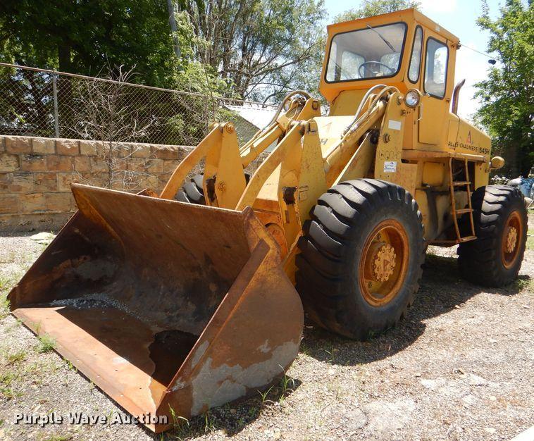 Allis Chalmers 545H wheel loader