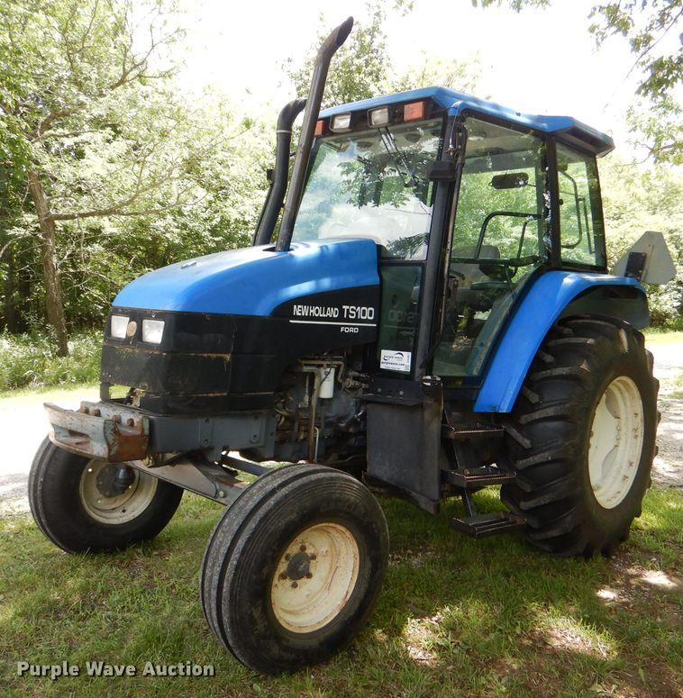 1998 New Holland TS100 tractor