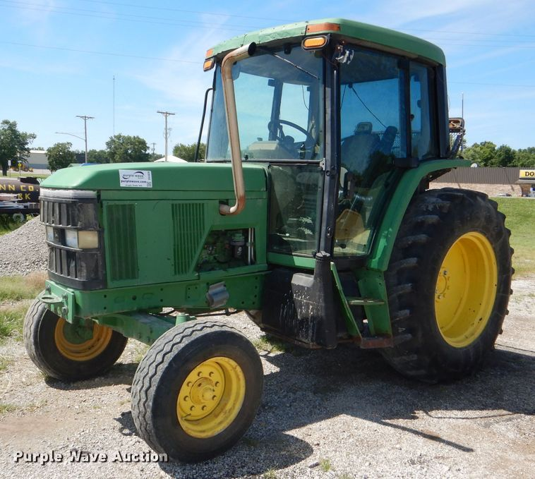 1996 John Deere 6300 tractor