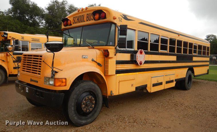 1996 International 3800 Blue Bird school bus