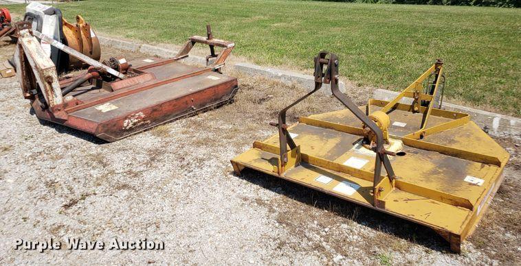 (2) rotary mower