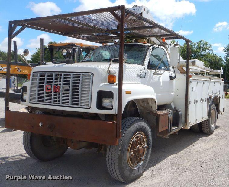 1994 GMC TopKick C6500 bucket truck