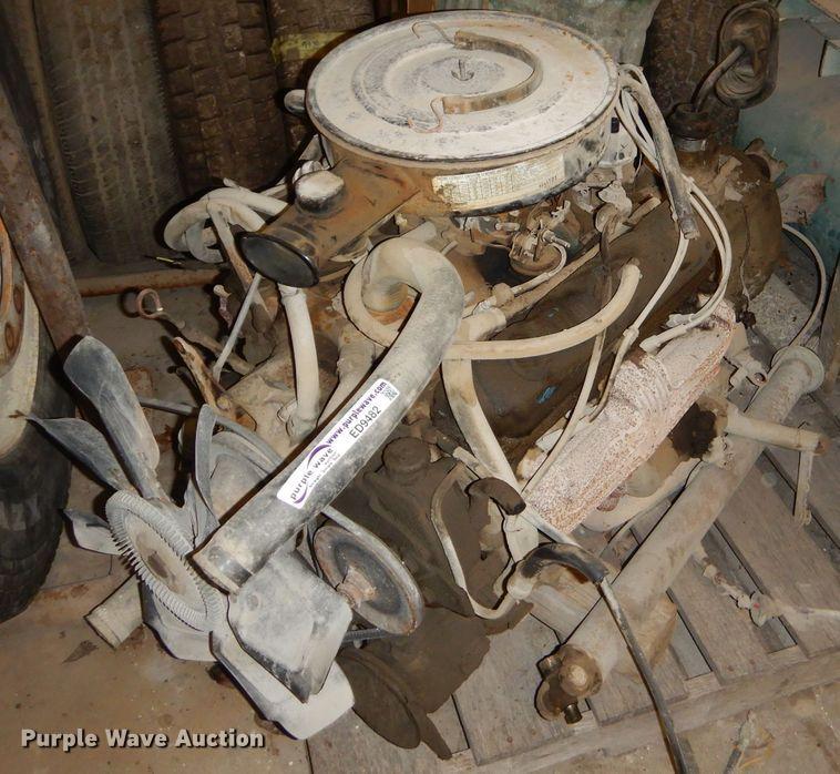 318 C.I.D. eight cylinder gas engine