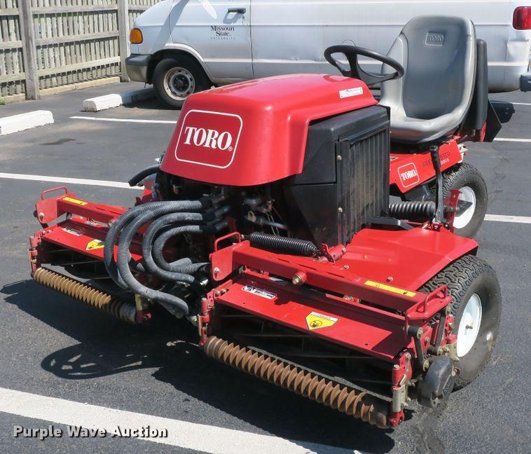 Toro Reel Master 2000D reel mower