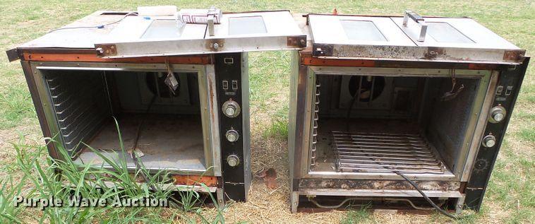 (2) Recycler double door ovens