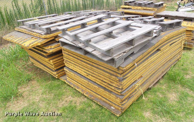 Approximately 66 insulation panels