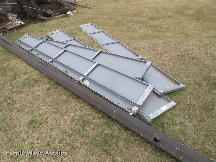 (4) garage door panels