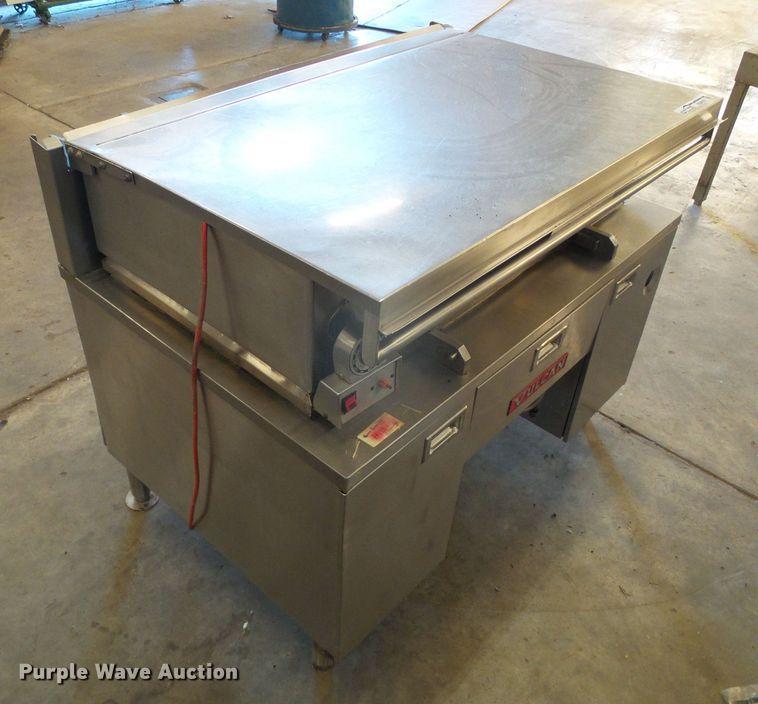 Vulcan stainless steel tilt top griddle