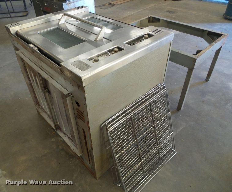 Perm View stainless steel double oven