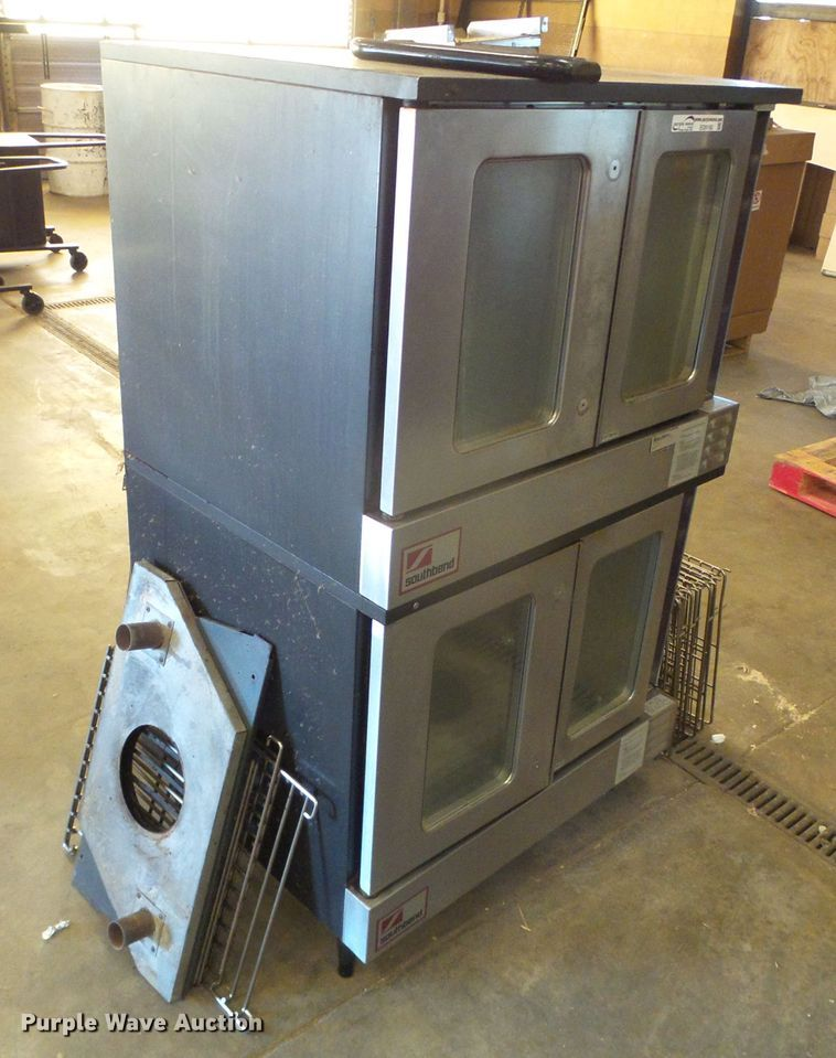 Southbend stainless steel double stake oven