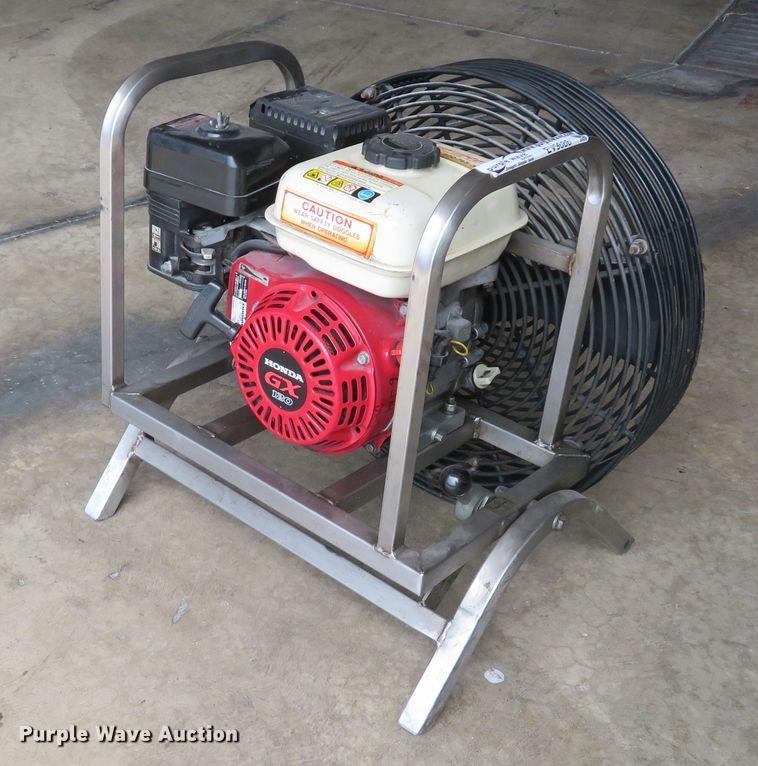 UniFire DS-3P4 positive pressure ventilation fan