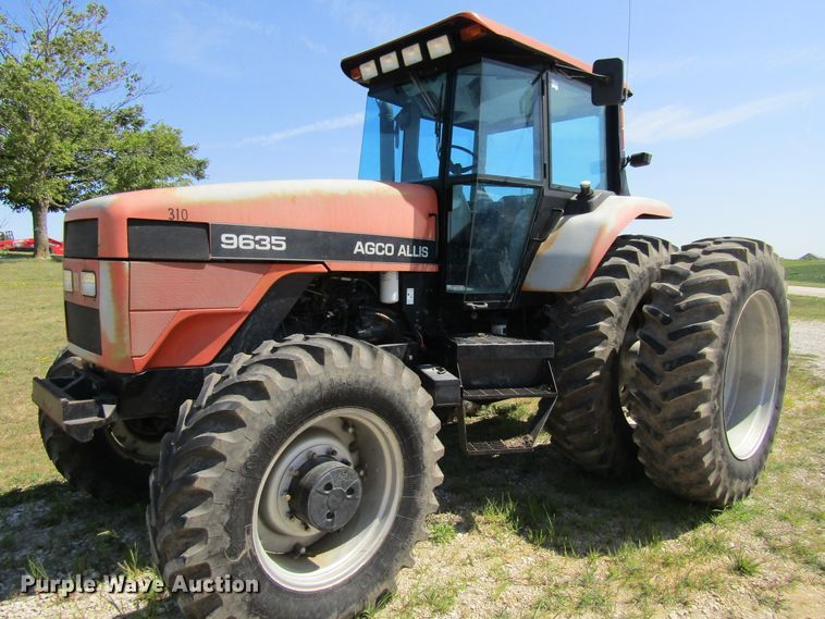 1997 AGCO Allis 9635F tractor