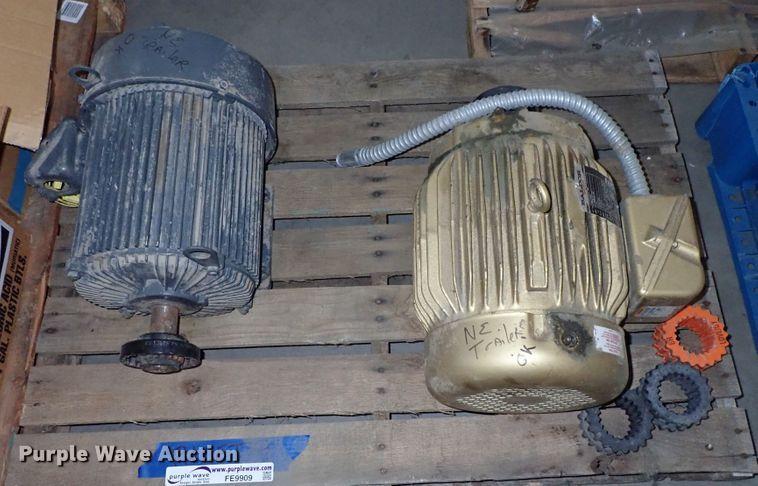 (2) electric motors