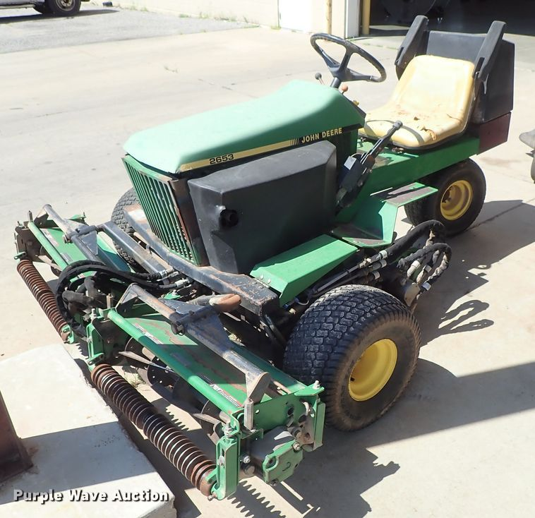John Deere 2653 greensmower