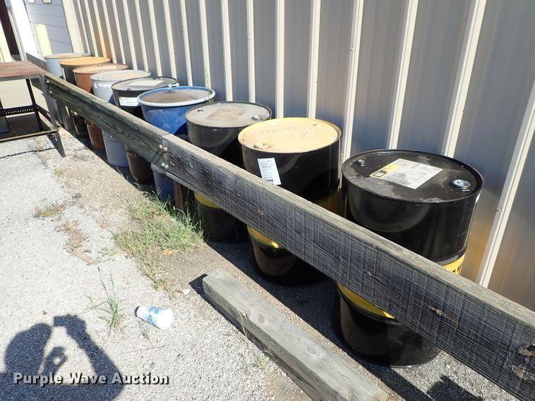 (9) steel drums