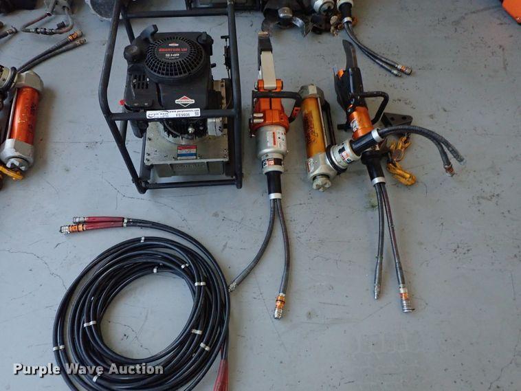 Holmatro rescue tools