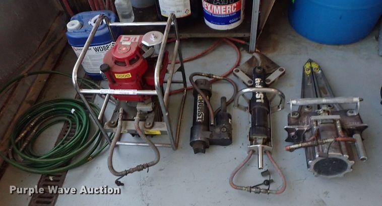 Hurst rescue tools