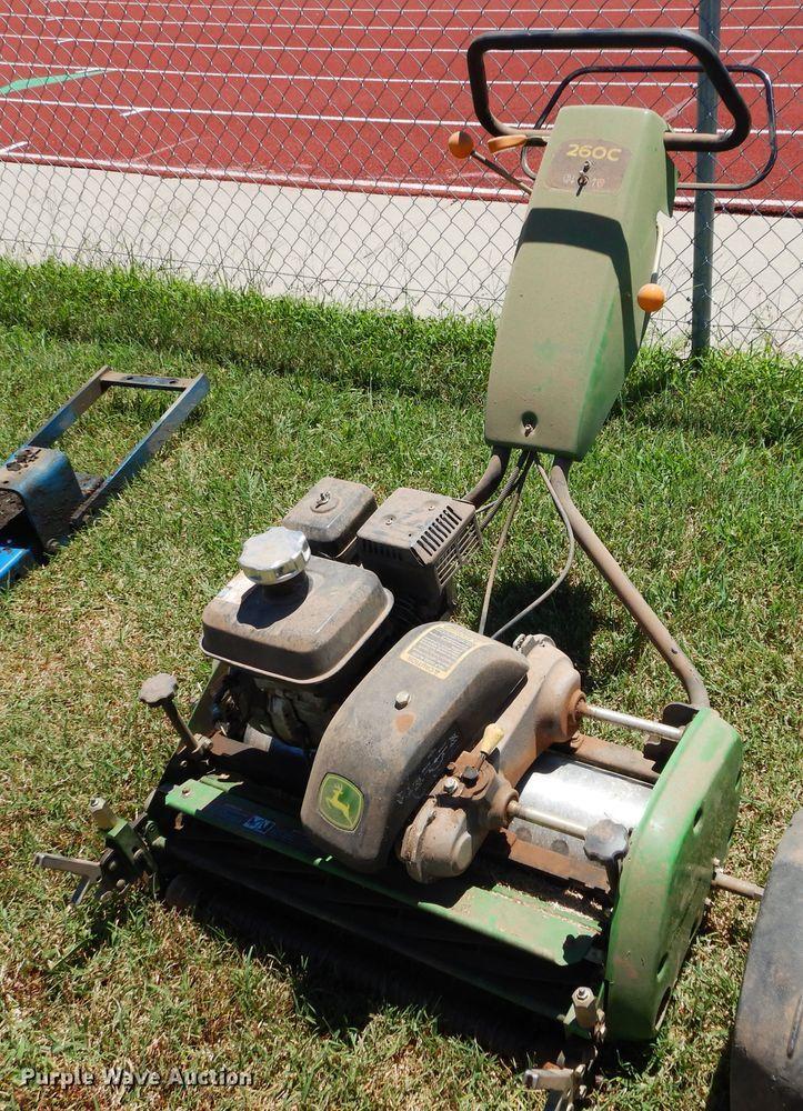 John Deere 260C reel mower