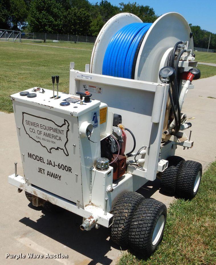 Sewer Equipment of America JAJ-600R sewer easement machine