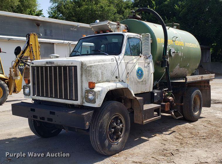1983 GMC Brigadier Big Wheeler sewer tank truck