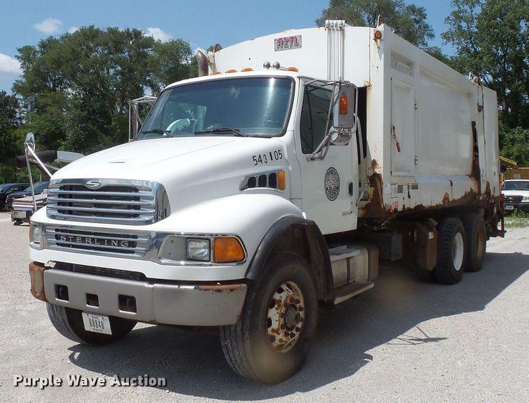 2004 Sterling Acterra refuse truck