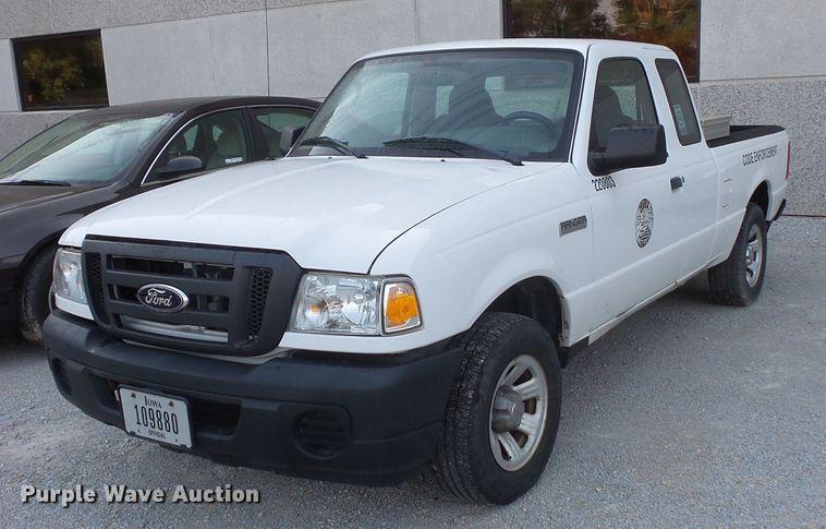 2008 Ford Ranger SuperCab pickup truck