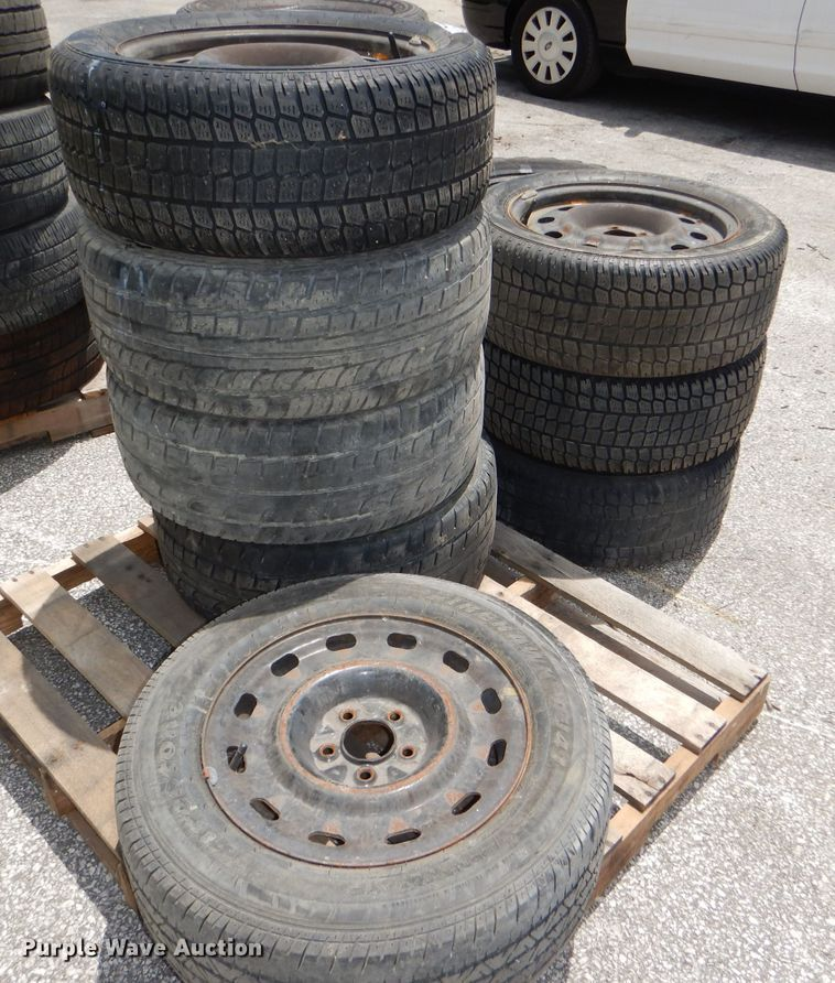 (8) tires and wheels