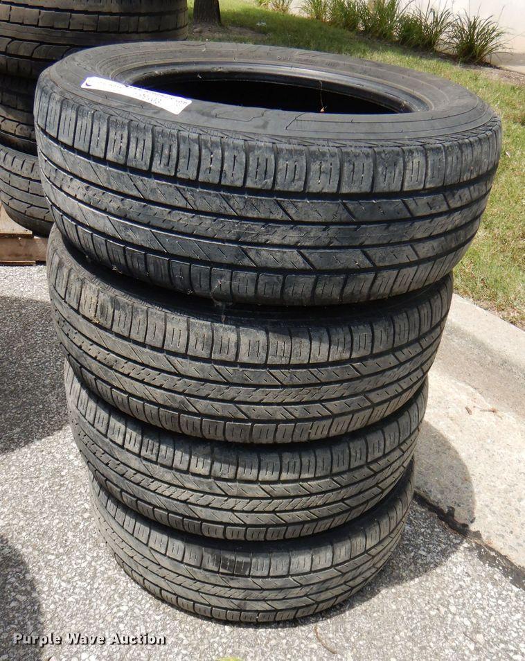 (4) 215/60R16 tires