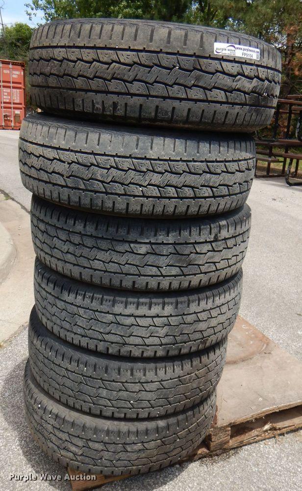 (6) 245/75R17 tires