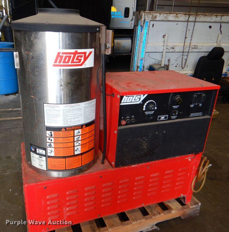 Hotsy hot pressure washer