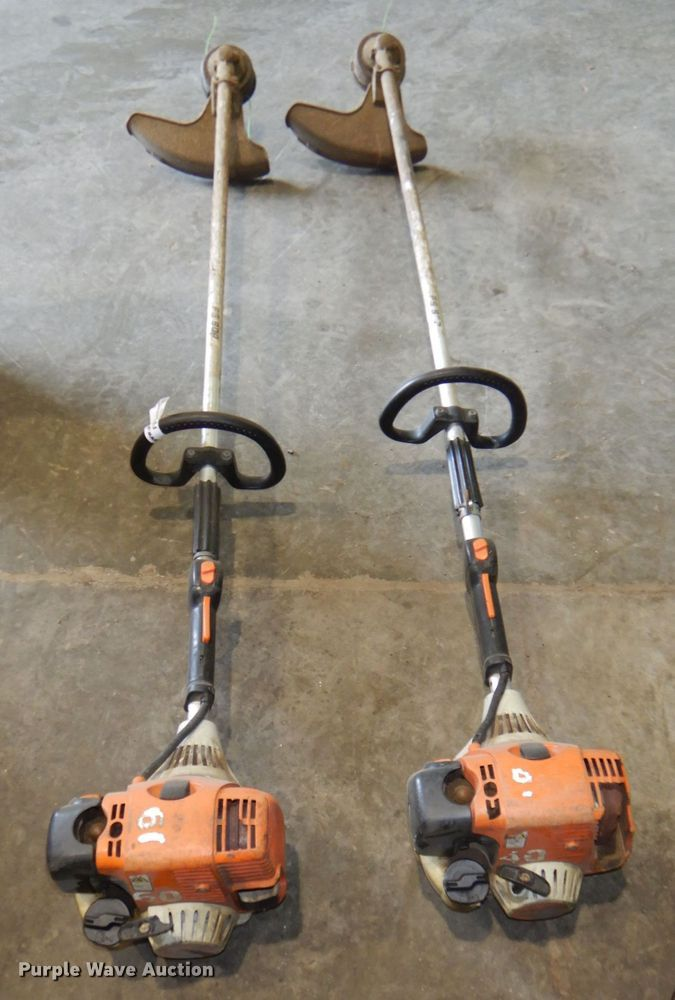 (2) Stihl string trimmers