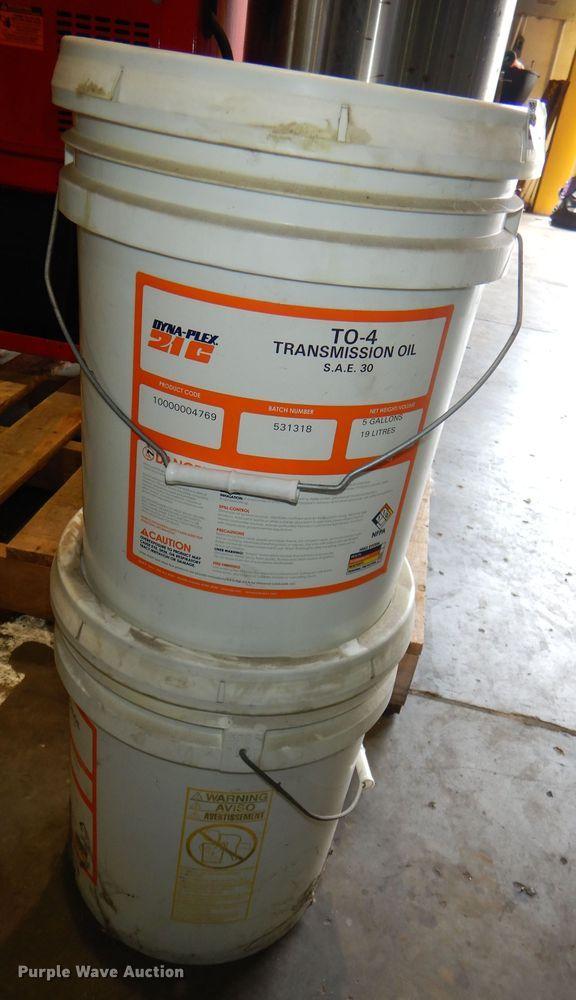 (2) Dyna-Plex 21C TO-4 transmission oil