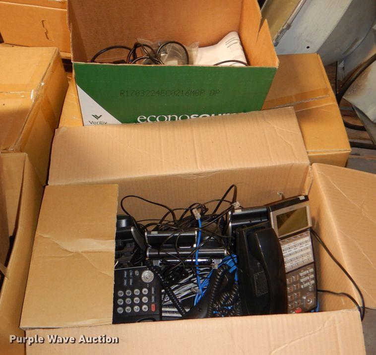Approximately 30 NEC telephones