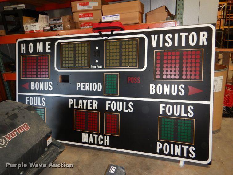 Fair-Play scoreboard