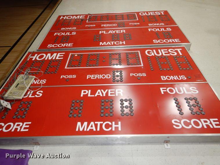 (2) All American scoreboards