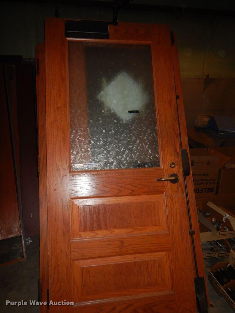 (17) wood doors