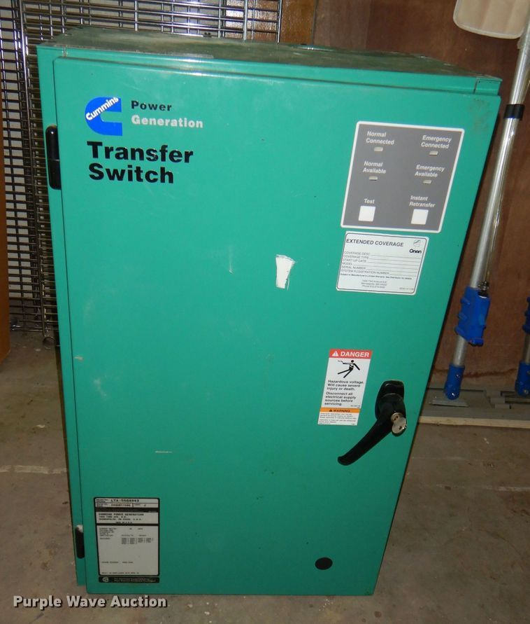 Cummins LTA-5664943 generation transfer switch
