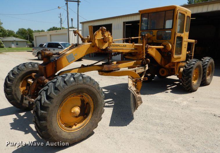 Caterpillar 112 rigid frame motor grader