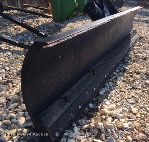 John Deere snow plow