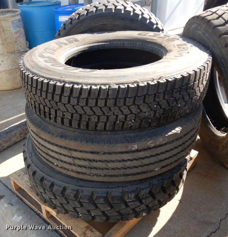 (5) recapped tires